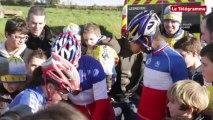Cyclo-cross. Lanarvily : les jeunes Bretons dignes de leur maillot tricolore