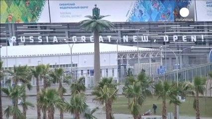 Κίνδυνος για τους Χειμερινούς Ολυμπιακούς Αγώνες του Σότσι από την... έλλειψη χιονιού   euronews, Διεθνή νέα