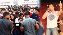 Salman Khan Mobbed By Fans At Jai Ho Promotions