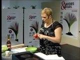 Sonia Ezgulian - Démonstration au Salon Savoirs & Saveurs 2013