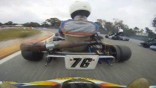 Big Pile Up CRASH Go Kart Crash 2012