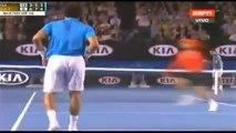 Roger Federer vs Jo-Wilfred Tsonga - Australian Open 2014 Highlights - AO R4