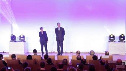La Ministre des Sports Valérie Fourneyron lors de la Soirée des Champions le 16-01-2014