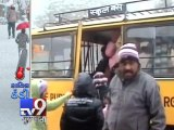 Dangerous cold sets in as heavy snow blankets North India , Part 2   Tv9 Gujarati