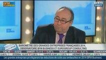 Les perspectives des grandes entreprises françaises pour 2014: Gilles Bonnenfant, dans Intégrale Bourse – 20/01