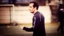 Chasselay - Monaco : un entraînement avec Ludovic Giuly !