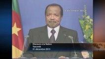 DISCOURS - Paul BIYA - Cameroun