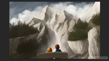 Draw in Game - Brothers : A Tale of Two Sons - Là-haut sur la montagne