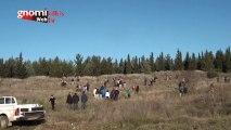 Δενδροφύτευση του λόφου του Αγίου Γεωργίου Κιλκίς από μαθητές Γυμνασίου