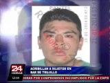 Trujillo: sicarios asesinan a tres sujetos por presunto ajustes de cuentas