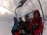 GoPro ski - La Plagne 19-1-14