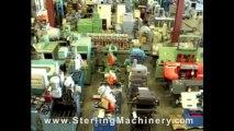 125 Ton x 12' Used HTC CNC Hydraulic Press Brake, Mdl. 125-12H, Automec CNC 9x9 CNC Controller, Lube System, Elec. Foot Pedal #A1397