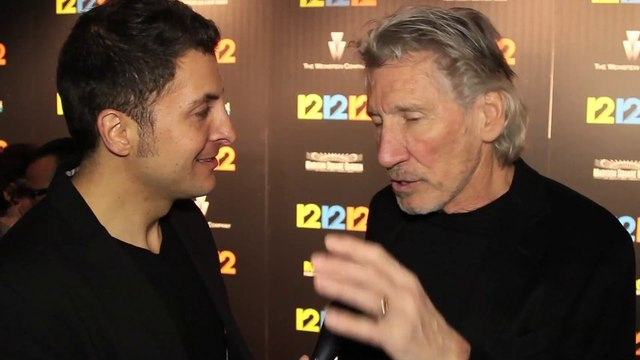 "Pink Floyd Bassist and Rock Icon Roger Waters #InTheLab at the ""12-12-12"" Premiere"
