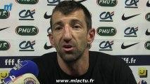 La joie de Sète et Christophe Rouve qualifiés pour les 8e de finale de la coupe de France