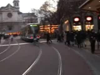 En centre ville: Grenoble
