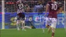 Roma 1-0 Juventus gol di Gervinho Coppa Italia 21-1-2014