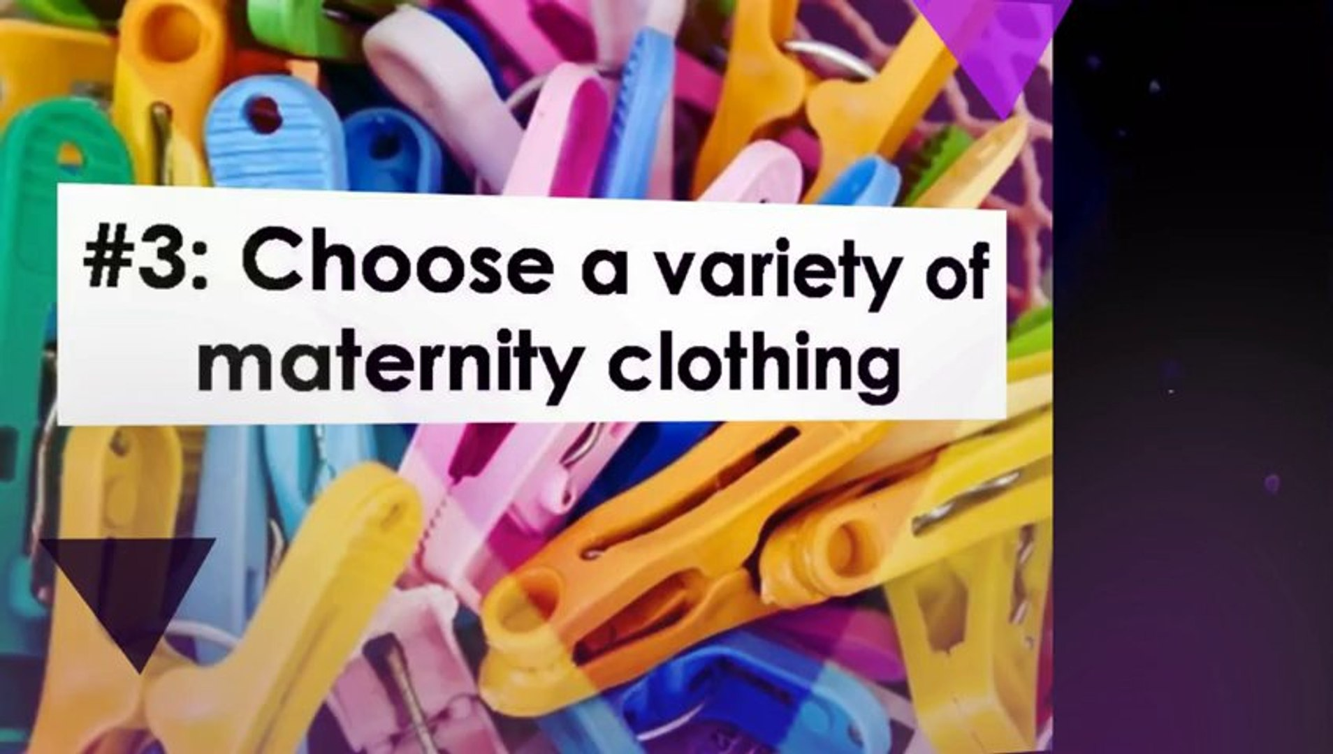 3 Helpful Tips when Shopping for Maternity Clothes