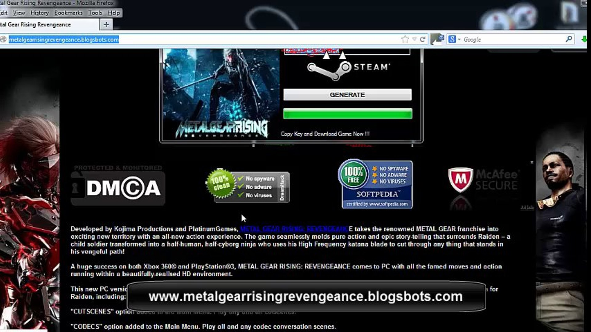 Metal Gear Solid Rising PC Download Free Full Game for PC Download