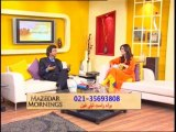 Mazedar Morning with Yasmeen on indus Television 20-01-2014 Part 03