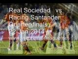 Watching Live Liga Spanish Copa del Rey   Real Sociedad  vs  Racing Santander  Online