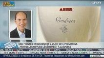 Le Groupe SEB enregistre un chiffre d'affaires en hausse de 2,5% en 2013: Vincent Léonard, dans Intégrale Bourse – 22/01