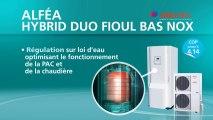 Alféa Hybrid Duo Fioul Bas Nox- Pompe à chaleur