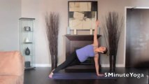 5 Minute Yoga - Side Plank - Right Side