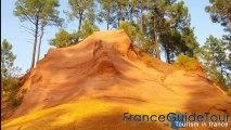 Les Ocres de roussillon (Guide touristique du Vaucluse | franceguidetour | notrebellefrance )