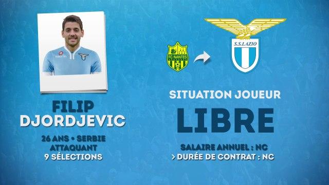 Officiel : Filip Djordjevic s'engage avec la Lazio !