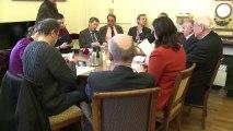 [Entretien] Le groupe UMP présente à la presse sa proposition de loi sur la réforme des rythmes scolaires