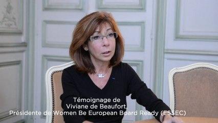Témoignage de Viviane de Beaufort, professeure à l'ESSEC, présidente WBEBR