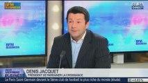 """""""Les entrepreneurs sont un matériel à mettre la pression sur la société"""", Denis Jacquet, dans GMB - 23/01"""
