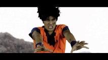 Parodie de Dragon Ball Z : un combat DBZ dans la vraie vie.