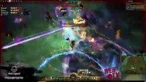 Guild vs Guild WAR LegenD Raw vs SWD 5 Rounds - Guild Wars 2