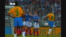 L'incroyable coup franc de Roberto Carlos contre la France