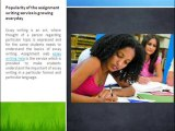 Online Assignment Writing Help, Essay Writing Help Solution Through Assignments Web