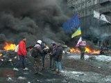 Ukraine: trêve de quelques heures entre manifestants et gouvernement - 23/01