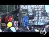 """Grillo: riforma elettorale contro di noi, e Napolitano tace. """"La legge c'è, si può andare a votare. E non facciamo alleanze"""""""