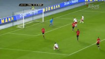 Polska - Norwegia 3:0 18.01.2014 Zmarnowana sytuacja Łukasz Teodorczyk