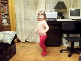 """Electric Six - """"Gay Bar"""" Little girl dance performance with poker face"""