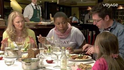 Georgiana chez vous : Dublin, Dîner au restaurant