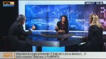 BFM Politique: L'interview BFM Business, Stéphane Le Foll répond aux questions d'Hedwige Chevrillon - 26/01 2/6