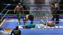 Ángel de Oro, La Máscara, Stuka Jr. vs Felino, Mr. Niebla, Negro Casas