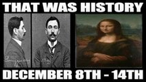 A Week In History: Who Stole The Mona Lisa? & More