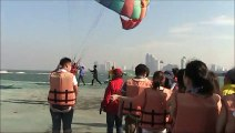 Unique Parasailing Off Pattaya, Highly Dangerous but Skilled Operators - Thailand Holidays