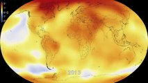 Six Decades Of A Warming Earth Animation