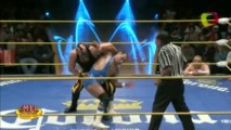 Atlantis, Blue Panther, Super Porky vs Niebla Roja, Pierroth, Tama Tonga