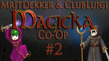Magicka Co-op with ClubLuigi - Part 2: Stop Killing Me!