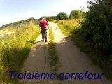 Parcours d'entrainement RU de CHABARROU berger des Pyrénées - Juin 2013