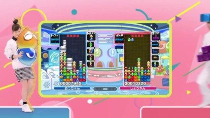 Spot TV de Puyo Puyo Tetris